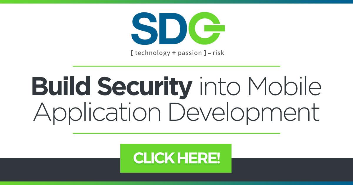sdg white paper build security into mobile application development cta