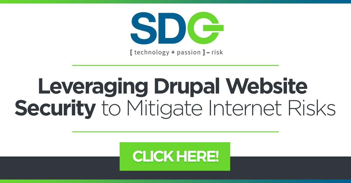 sdg white paper cta leveraging drupal website security to mitigate internet risks